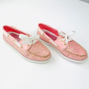 Sperry Top-Sider 2-Eye Glitter Boat Shoes